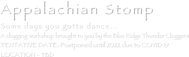 Appalachian Stomp